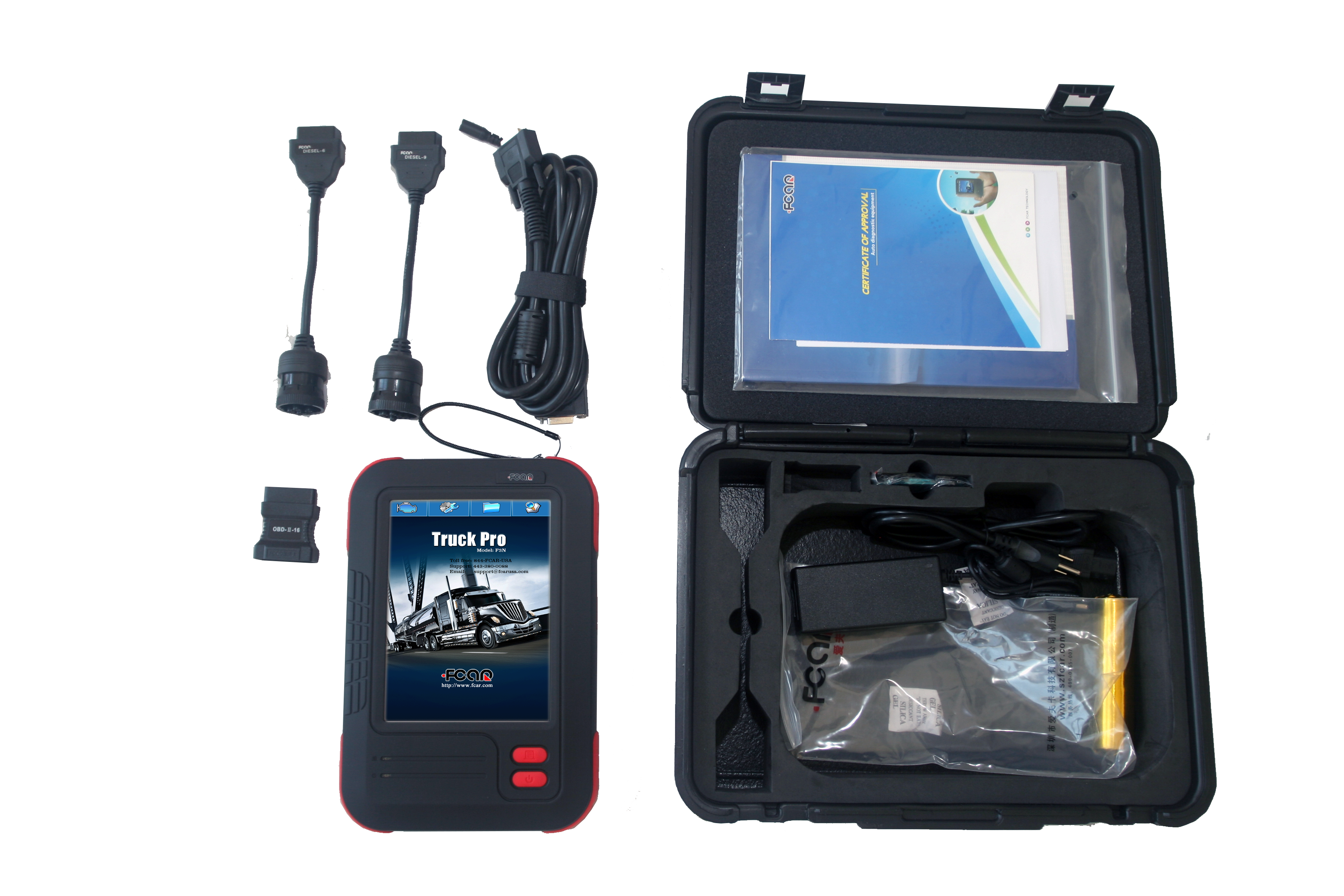 F3N HD Truck Diagnostic Scan Tool