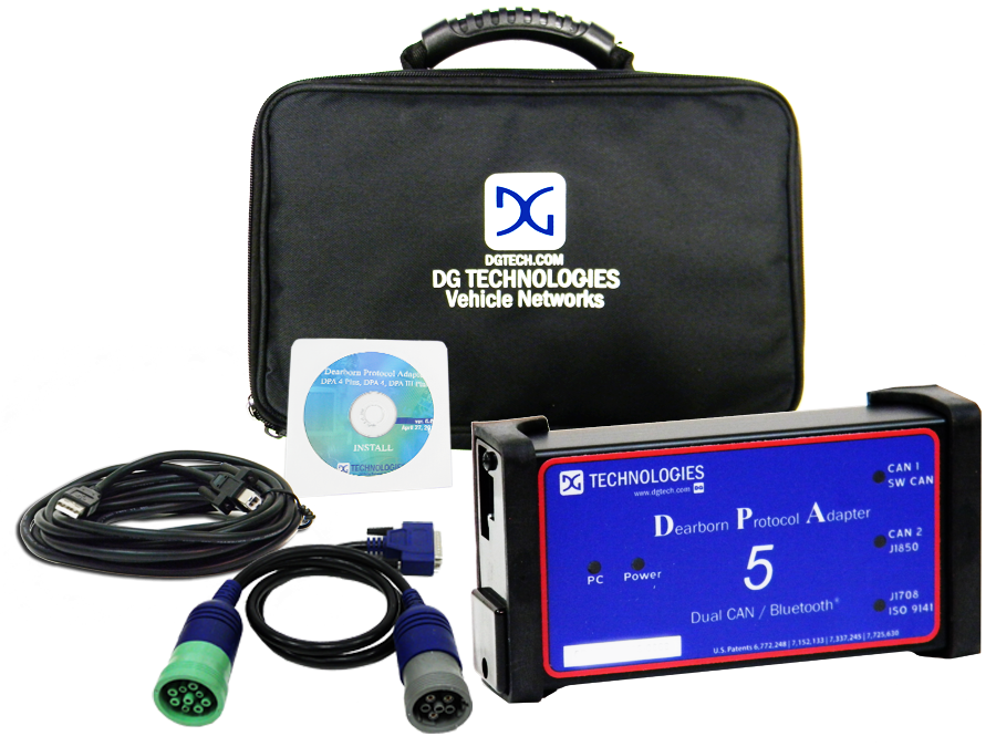 DG Technologies DPA 5 Kit with DG Diagnostics & Bluetooth