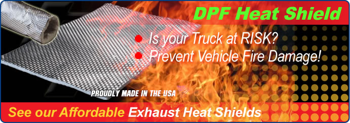 DPF Heat Shield